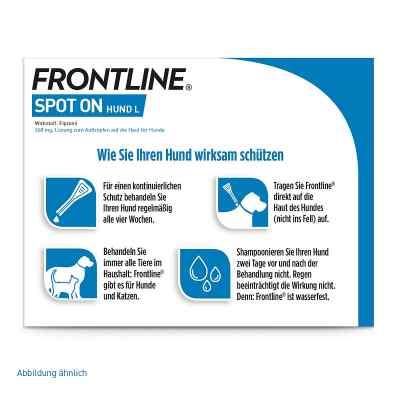 Frontline Spot on Hund 40 veterinär  Lösung  bei deutscheinternetapotheke.de bestellen