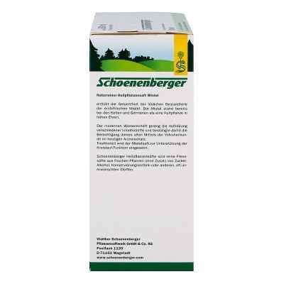 Mistelsaft Pflanzensaft Schoenenberger  bei deutscheinternetapotheke.de bestellen