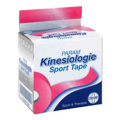 Kinesiologie Sport Tape 5 cmx5 m pink  bei deutscheinternetapotheke.de bestellen
