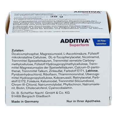 Additiva Superform Filmtabletten  bei deutscheinternetapotheke.de bestellen