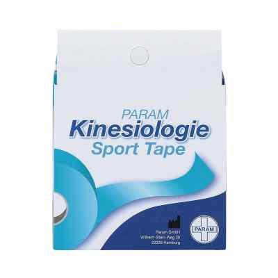 Kinesiologie Sport Tape 5 cmx5 m blau  bei deutscheinternetapotheke.de bestellen
