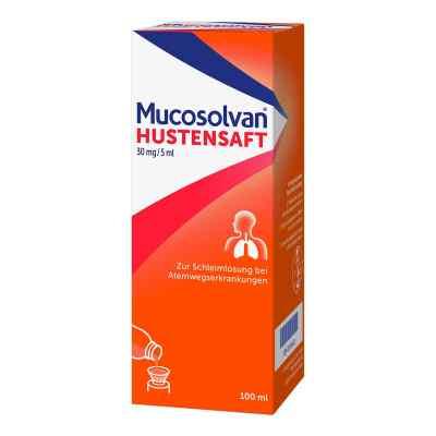 Mucosolvan Hustensaft 30mg/5ml Schleimlöser bei Husten  bei deutscheinternetapotheke.de bestellen