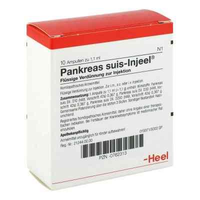 Pankreas Suis Injeel Ampullen  bei deutscheinternetapotheke.de bestellen
