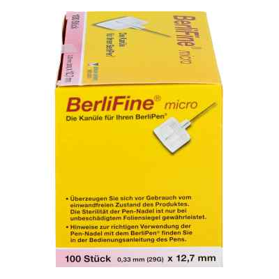 Berlifine micro Kanülen 0,33x12,7 mm  bei deutscheinternetapotheke.de bestellen