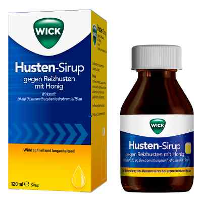 WICK Husten-Sirup gegen Reizhusten mit Honig  bei deutscheinternetapotheke.de bestellen