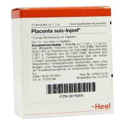 Placenta Suis Injeel Ampullen  bei deutscheinternetapotheke.de bestellen