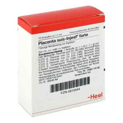 Placenta Suis Injeel forte Ampullen  bei deutscheinternetapotheke.de bestellen