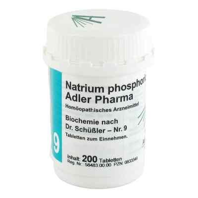 Biochemie Adler 9 Natrium phosphoricum D 6 Adl.ph. Tabletten   bei deutscheinternetapotheke.de bestellen