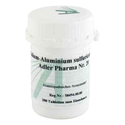 Biochemie Adler 20 Kalium alum.sulf.D12 Tabletten  bei deutscheinternetapotheke.de bestellen