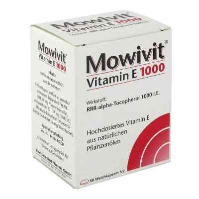 Mowivit Vitamin E 1000 Kapseln  bei deutscheinternetapotheke.de bestellen