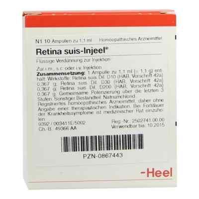 Retina Suis Injeel Ampullen  bei deutscheinternetapotheke.de bestellen
