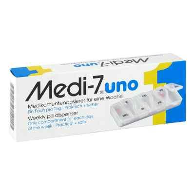 Medi 7 Uno Medikamenten Dosierer für 7 Tage  bei deutscheinternetapotheke.de bestellen