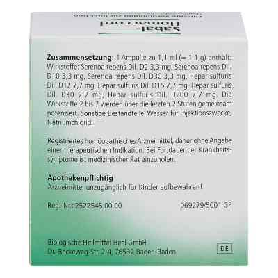 Sabal Homaccord Ampullen  bei deutscheinternetapotheke.de bestellen