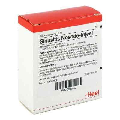 Sinusitis Nosode Injeel Ampullen  bei deutscheinternetapotheke.de bestellen