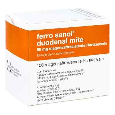 Ferro sanol duodenal mite 50mg  bei deutscheinternetapotheke.de bestellen
