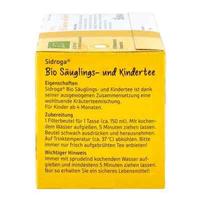 Sidroga Bio Säuglings- und Kindertee Filterbeutel  bei deutscheinternetapotheke.de bestellen