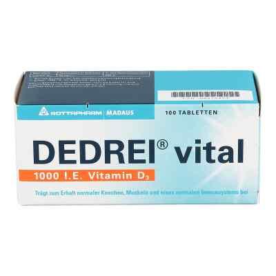 Dedrei vital Tabletten  bei deutscheinternetapotheke.de bestellen