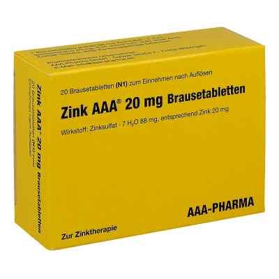 Zink AAA 20mg  bei deutscheinternetapotheke.de bestellen