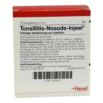 Tonsillitis Nosode Injeel Ampullen  bei deutscheinternetapotheke.de bestellen