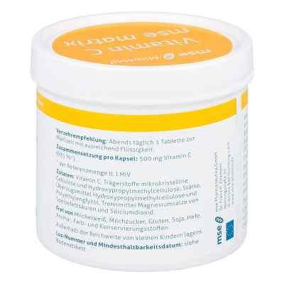 Vitamin C Mse Matrix Tabletten  bei deutscheinternetapotheke.de bestellen