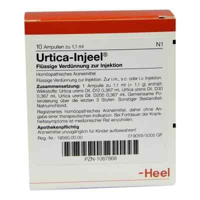 Urtica Injeel Ampullen  bei deutscheinternetapotheke.de bestellen