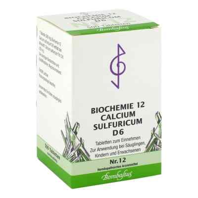 Biochemie 12 Calcium sulfuricum D6 Tabletten  bei deutscheinternetapotheke.de bestellen