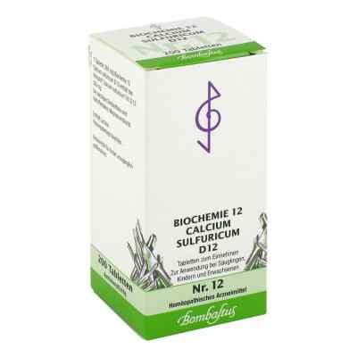 Biochemie 12 Calcium sulfuricum D12 Tabletten  bei deutscheinternetapotheke.de bestellen