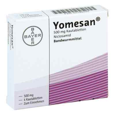 Yomesan 500 mg Kautabletten  bei deutscheinternetapotheke.de bestellen