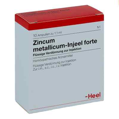 Zincum Metallicum Injeel forte Ampullen  bei deutscheinternetapotheke.de bestellen