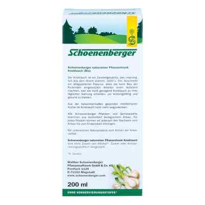 Knoblauch Naturreiner Pflanzentr.schoenenberger  bei deutscheinternetapotheke.de bestellen