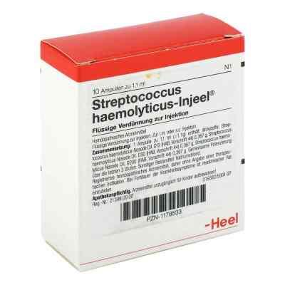 Streptococcus Haemolyticus Injeel Ampullen  bei deutscheinternetapotheke.de bestellen