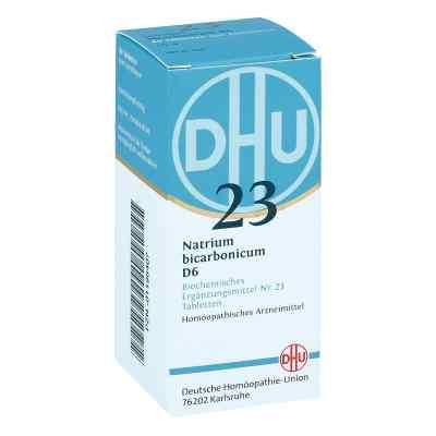Biochemie Dhu 23 Natrium bicarbonicum D 6 Tabletten   bei deutscheinternetapotheke.de bestellen