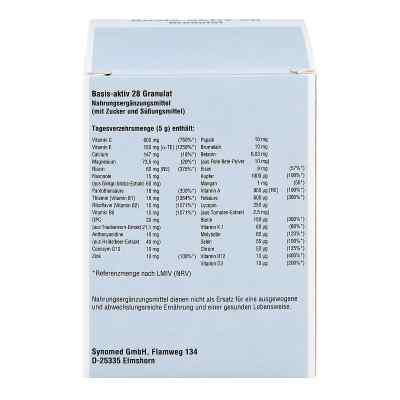 Basis Aktiv 28 Granulat  bei deutscheinternetapotheke.de bestellen