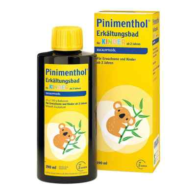 Pinimenthol Erkältungsbad für Kinder ab 2 Jahren Eucalyptus  bei deutscheinternetapotheke.de bestellen