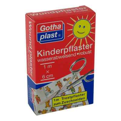 Gothaplast Kinderpflaster 6 cmx1 m  bei deutscheinternetapotheke.de bestellen