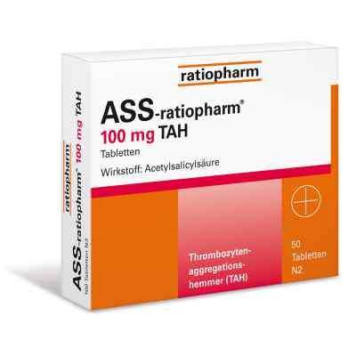 ASS-ratiopharm 100mg TAH  bei deutscheinternetapotheke.de bestellen
