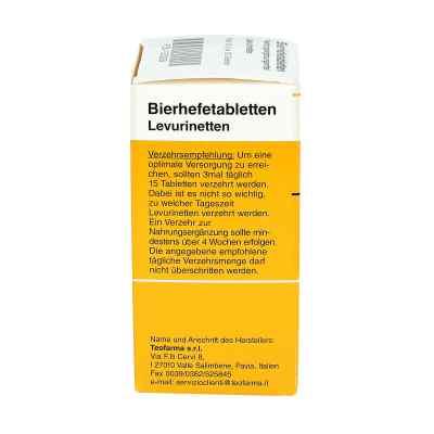 Bierhefe Tabletten Levurinetten  bei deutscheinternetapotheke.de bestellen
