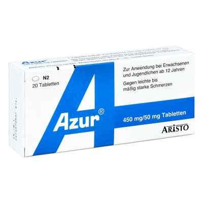 Azur 450mg Paracetamol/50mg Coffein  bei deutscheinternetapotheke.de bestellen