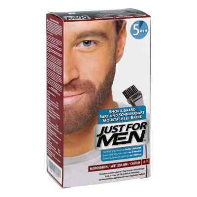 Just for men Brush in Color Gel mittelbraun  bei deutscheinternetapotheke.de bestellen