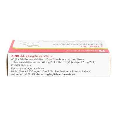 Zink AL 25mg  bei deutscheinternetapotheke.de bestellen