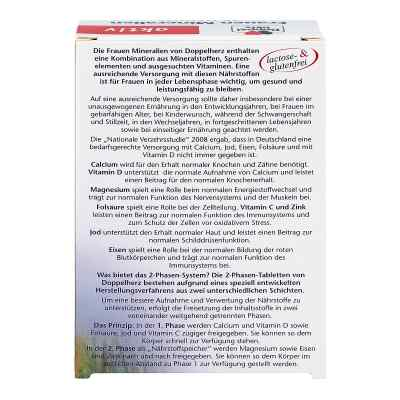 Doppelherz Frauen Mineralien Depot Tabletten  bei deutscheinternetapotheke.de bestellen