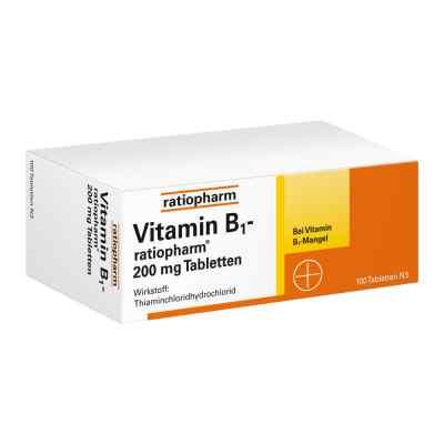 Vitamin B1 ratiopharm 200 mg Tabletten  bei deutscheinternetapotheke.de bestellen