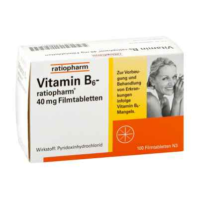 Vitamin B6 ratiopharm 40 mg Filmtabletten  bei deutscheinternetapotheke.de bestellen