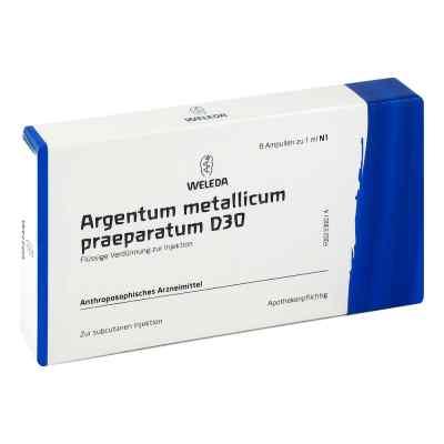 Argentum Metallicum Praep. D30 Ampullen  bei deutscheinternetapotheke.de bestellen
