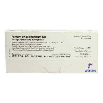 Ferrum Phosphoricum D8 Ampullen  bei deutscheinternetapotheke.de bestellen