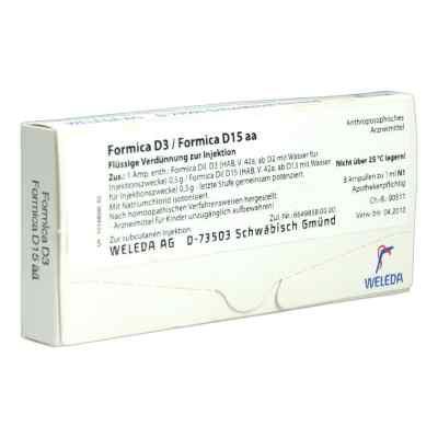 Formica D3 / Formica D15 aa Ampullen  bei deutscheinternetapotheke.de bestellen