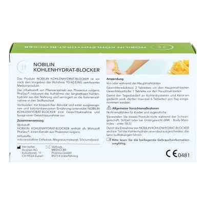 Nobilin Kohlenhydrat-blocker Tabletten  bei deutscheinternetapotheke.de bestellen