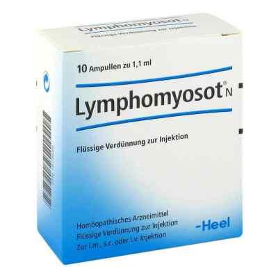 Lymphomyosot N Ampullen  bei deutscheinternetapotheke.de bestellen