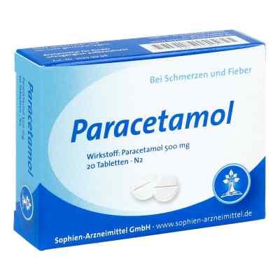 Paracetamol 500 Sophien  bei deutscheinternetapotheke.de bestellen
