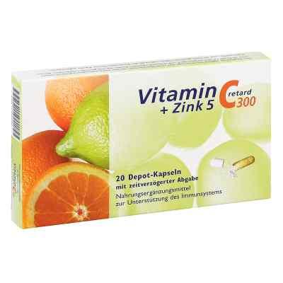 Vitamin C 300 + Zink 5 retard Kapseln  bei deutscheinternetapotheke.de bestellen